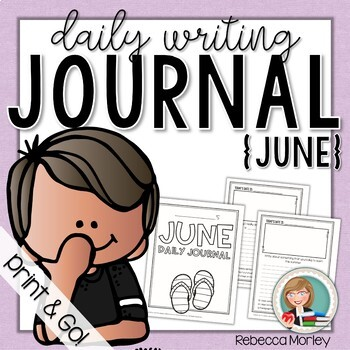 June Daily Journal (Writing Prompts)