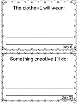 June Daily Journal: 30 Days of Summer Plans: Print, Cut, Go!