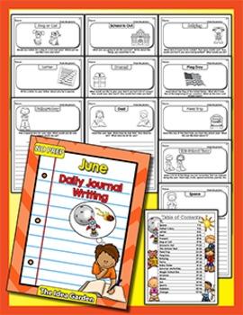 June Daily Journal Writing - NO PREP