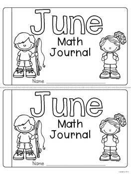June Daily Math Journal (Common Core Aligned)