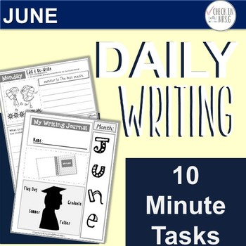 June Daily Writing Tasks