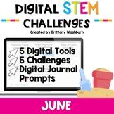 June Digital STEM Challenges™