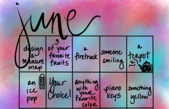June Drawing Calendar