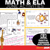 June ELA and Math Activities