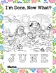 June Early Finisher (Grades 5-6) or Challenger (Grades 3-4) Packet