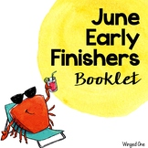 June Early Finishers Booklet