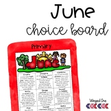 June Early Finishers Choice Board
