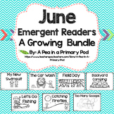 June Emergent Readers and Response Activities