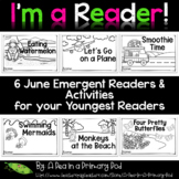 June Emergent Readers and Response Activities - I'm a Read