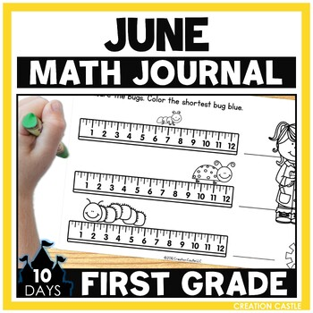 June First Grade Math Journal