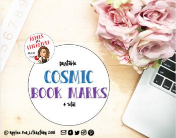 Cosmic Book Marks