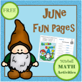 June Fun Pages