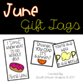 June Gift Tags
