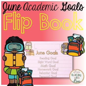 June Goals Flip Book