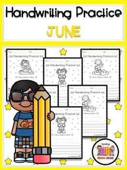 June Handwriting Practice