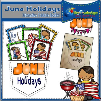 June Holidays Interactive Foldable Booklet