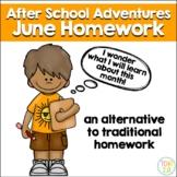 June Homework After School Adventures