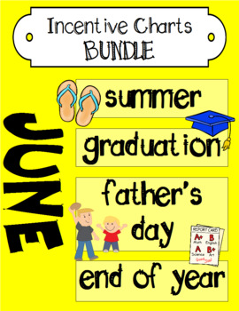 June Incentive Chart BUNDLE