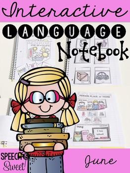 June Interactive Language Notebook