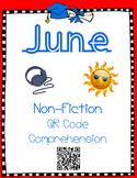 June- Inventions - Non Fiction QR Code Comprehension