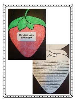 June Jam Novel Study