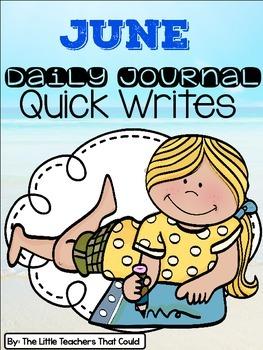 June Journal Quick Writes