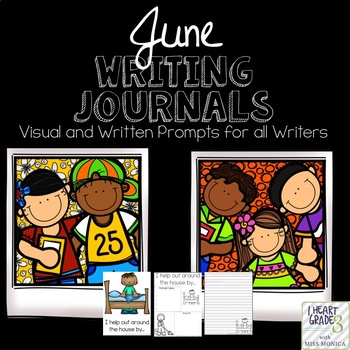 June Journals with Visual and Written Prompts
