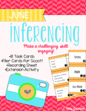 June & July Inferencing Task Cards