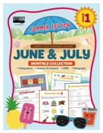 June & July Monthly Collection, Grade 1