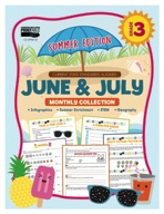 June & July Monthly Collection, Grade 3