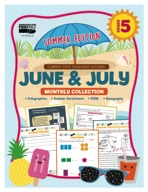 June & July Monthly Collection, Grade 5