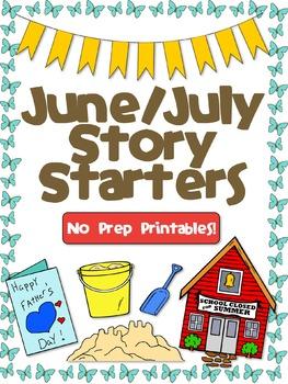 June/July Story Starters