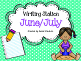 June / July  Writing Station