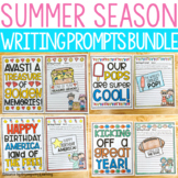 June, July, and August Summer Season Writing Prompts