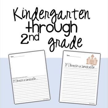 June Writing Prompts Kindergarten - 2nd grade