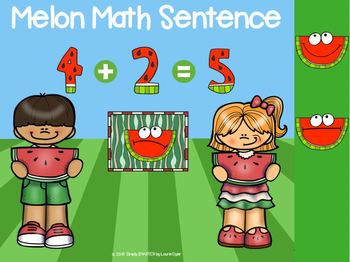 June Kindergarten Digital Math Centers For GOOGLE CLASSROOM