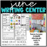 June Kindergarten Writing Center