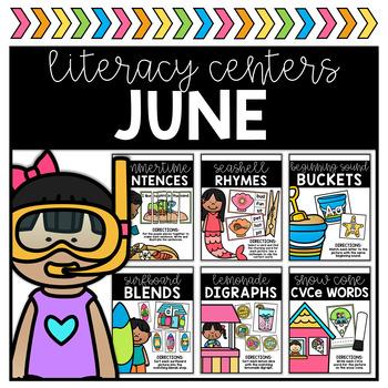 June Literacy Centers
