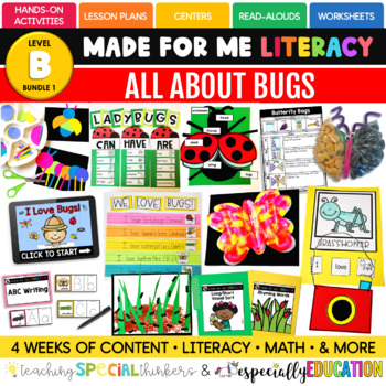 June Made For Me Literacy (Bugs Coming May 15th)