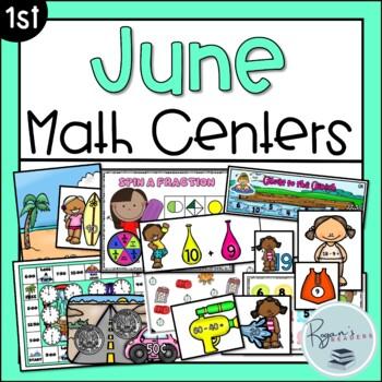 June Math Centers