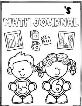 Summer Review Math Journal (1st Grade)