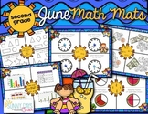 June Math Mats {second grade}