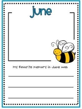 June Memory Writing Prompt