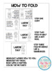 June Mini Books...Just print, fold, and read!