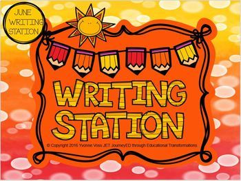 June Mini Writing Station