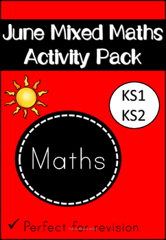 June Mixed Maths Activity Pack
