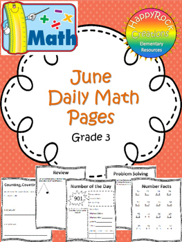June Monthly Math Pages (Review)