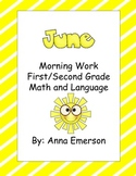 June Morning Work First and Second Grade