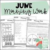 June Morning Work {For Upper Elementary!}