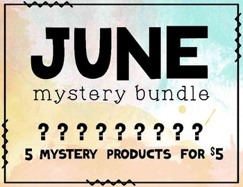 June Mystery Bundle - 5 Products For Only $5